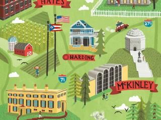 "Ohio Magazine • ""Presidential Road Trips"""