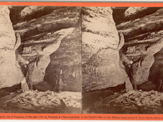 91.7 FM WVXU • 150 Years Ago, A Cincinnati Photographer Brought Mammoth Cave Into Focus